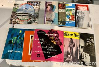 Classical Records Lot of 10