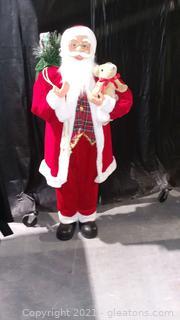 "Jolly 48"" Free Standing Santa"