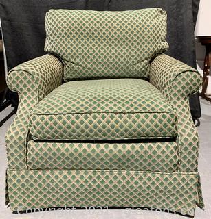 Skirted Diamond Design Chair