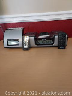 Pair of Ihome Alarm Clock Radios