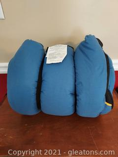 Nice Field and Stream Sleeping Bag (Blue)