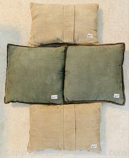 4 Rustic Woolrich Pillows