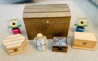 Wood Decor Box Lot