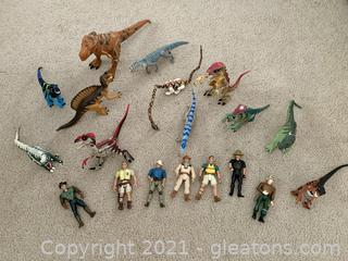Jurassic World Dinosaurs and Action Figures