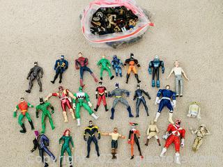 Super Heroes and Villians Lot