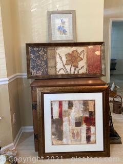 Impressionist Art Lot – 3 Picture