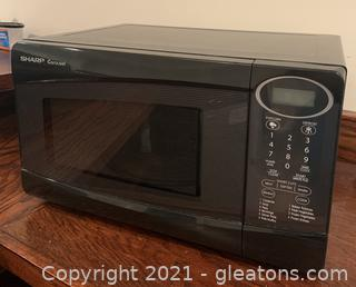 Small Sharp Carousel Microwave