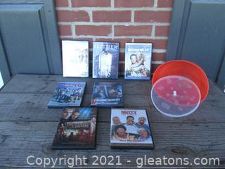 LeKue Microwave Popcorn Bowl and Some Movies