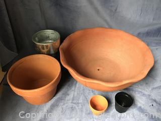 Terra-cotta planters