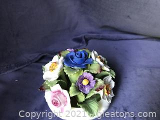 Aynsley England porcelain flowers