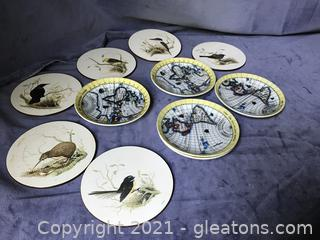 2 sets of coasters