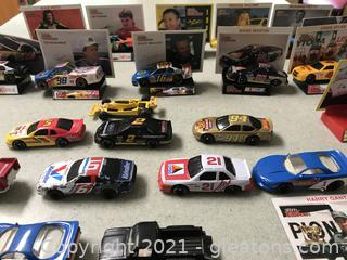 NASCAR racing champions cards and holders