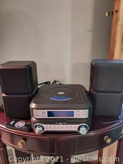 Naxa Digital CD Micro System with AM/FM Stereo Radio