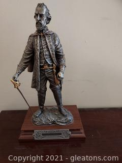 Chilmark- The Calvary Generals Nathan Bedford Forest Pewter Statue by Francis J.Barnum