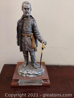 Chilmark- The Calvary Generals Philip Sheridan Pewter Statue by Francis J.Barnum