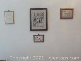 4 Piece Wall Decor Group