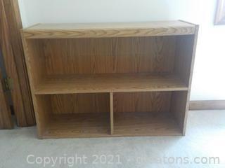 Sturdy 2 Shelf Bookcase