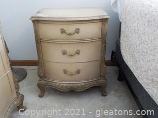 French Provincial Night Stand (A)