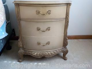 French Provencial Night Stand (B)