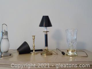 Eclectic Group of Table Lamps