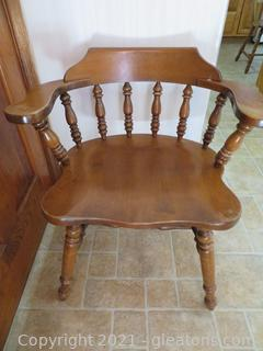 Mid Century Captain's Chair