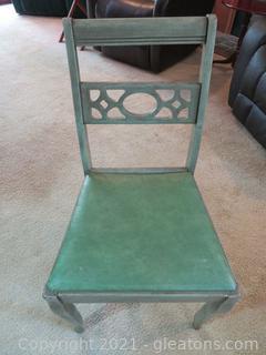 Delightful Green Desk Chair