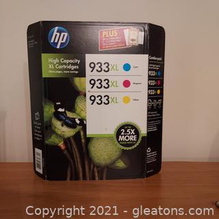 HP 933XL Ink Cartridges