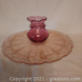 Pretty Pink Glassware