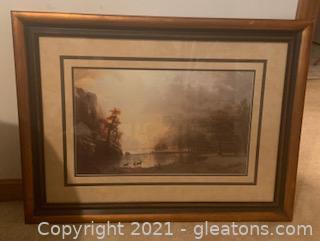 Sierra Nevada Morning by Albert Bierstadt Reproduction