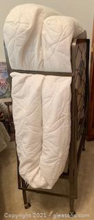 Rollaway Bed with Twin Fiber Mattress
