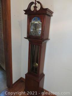 Stately Windsor Grandfather Clock