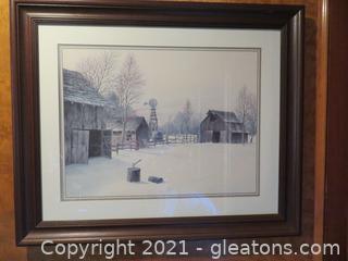 Gene Speck Framed Painting