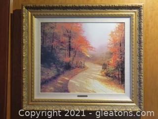 """""""Autumn Lane"""" by Thomas Kincaid"""