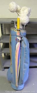 MacGregor Golf Bag & Clubs