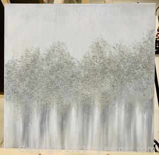 Artistic Glitter Canvas Print