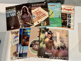 World Travel & Misc. Records Lot of 7
