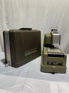 Dukane Micromatic Projector and Cassette
