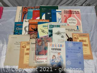 Timeless Sheet Music Collection