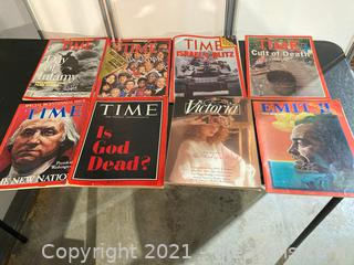 Vintage Time Newsmagazines from 66-91