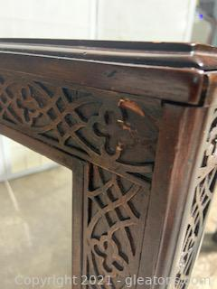 Asian Style Accent Table