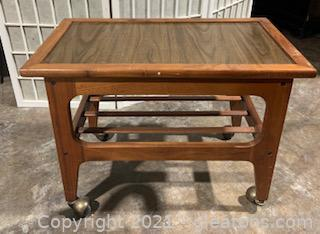 Mid Century Danish Modern Tea Cart/End Table