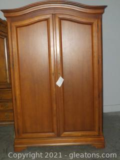 Classic Thomasville Clothing and TV Armoire