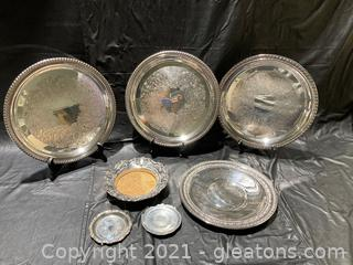 Silverplate Collection of serving pieces