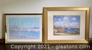 2 Lovely Landscape Prints