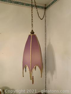 Mid Century Hanging Lamp