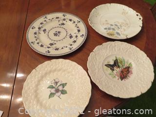 Lot of Four Decorative Plates