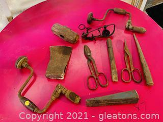 Various Antique Tools !