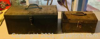 2 Antique Tool Boxes