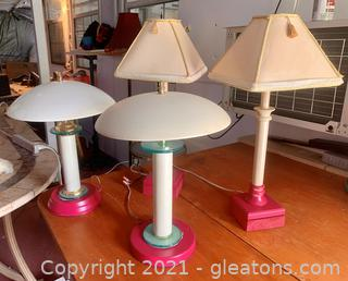 4 Stylish Table Lamps