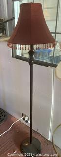 Black Vintage Floor Lamp